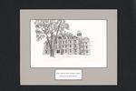 Robie Andrews Hall, Gorham Campus by Libby Barrett