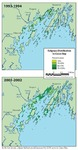 Eelgrass Distribution in Casco Bay (1993-94 and 2001-2002 Maps)