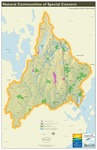 Presumpscot River Watershed Map: Natural Communities of Special Concern (Map) by Presumpscot River Watershed Coalition, Casco Bay Estuary Partnership, and Center for Community GIS