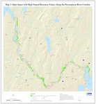 Presumpscot River Corridor Map 2: Open Space with High Natural Resource Values (Map)