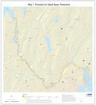 Presumpscot River Corridor Map 7: Priorities for Open Space Protection (Map)