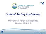 Monitoring Change in Casco Bay (2015 State of the Bay Presentation) by Mike Doan