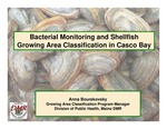 Bacterial Monitoring and Shellfish Growing Area Classification in Casco Bay (2010 State of the Bay Presentation)