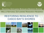 Restoring Resilience to Casco Bay's Shores (2010 State of the Bay Presentation) by Wells National Estuarine Research Reserve