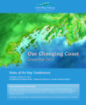 2015 State of the Bay Conference Agenda by Casco Bay Estuary Partnership