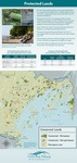 Protected Lands (2010 State of the Bay Poster) by Casco Bay Estuary Partnership