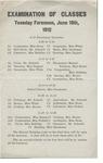 Gorham Normal School Commencement Program 1912