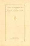 Gorham Normal School Commencement Program 1926