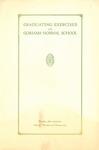 Gorham Normal School Commencement Program 1927