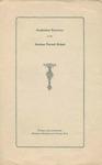 Gorham Normal School Commencement Program 1929
