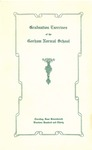Gorham Normal School Commencement Program 1930