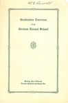 Gorham Normal School Commencement Program 1931