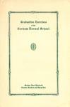 Gorham Normal School Commencement Program 1932