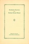 Gorham Normal School Commencement Program 1933