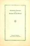 Gorham Normal School Commencement Program 1934