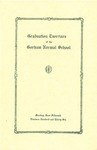 Gorham Normal School Commencement Program 1936