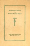 Gorham Normal School Commencement Program 1937