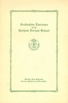 Gorham Normal School Commencement Program 1941