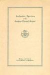 Gorham Normal School Commencement Program 1942
