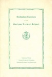 Gorham Normal School Commencement Program 1945