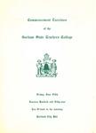 Gorham State Teachers College Commencement Program 1959 by Gorham State Teachers College