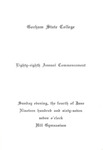 Gorham State College Commencement Program 1967