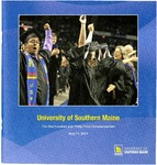 University of Southern Maine Commencement Program, 2013