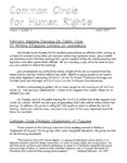 Common Circle for Human Rights, Vol.1, No.2 (March 1997)