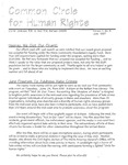 Common Circle for Human Rights, Vol.1, No.5 (June 1997)