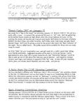 Common Circle for Human Rights, Vol.2, No.1 (January-February 1998)