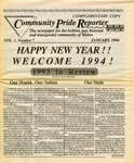 Community Pride Reporter, 01/1994