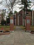 Brunswick, Maine: Bowdoin College Robinson Memorial Gate (WWI)