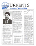 Currents, Vol.10, No.1 (Sept.16, 1991)