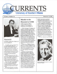 Currents, Vol.9, No.6 (Nov.19, 1990) by Robert S. Caswell and Susan E. Swain