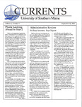 Currents, Vol.7, No.1 (Sept.12, 1988) by Robert S. Caswell and Susan E. Swain
