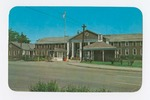 Entrance to Camp Moffett Postcard