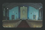 Holy Name Catholic Chapel Postcard (3) by Denis Mailhot MPS