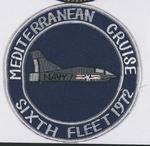 Mediterranean Cruise Sixth Fleet 1972 Patch by none