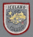 Iceland Island Patch by none