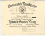 Denis Mailhot Honorable Discharge Certificate by U.S. Navy