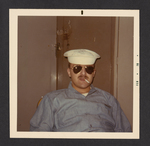 Denis Mailhot with Cigarette and Sunglasses