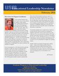 Educational Leadership Newsletter February 2014