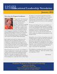 Educational Leadership Newsletter January 2014