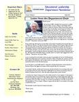 Educational Leadership Program Newsletter June 2013