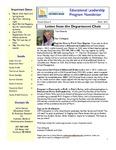 Educational Leadership Program Newsletter March 2012