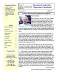 Educational Leadership Program Newsletter March 2013