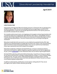 Educational Leadership Newsletter April 2019 by Educational Leadership Program, University of Southern Maine