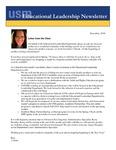 Educational Leadership Newsletter December 2018