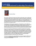 Educational Leadership Newsletter June 2017 by Educational Leadership Department, University of Southern Maine