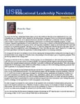 Educational Leadership Newsletter December 2016